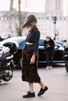 Paris Fashion Week AW 2015....Natasha