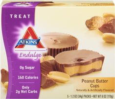 Atkins  Endulge Peanut Butter Cup, 5 Count Cups (Pack of 6) - http://goodvibeorganics.com/atkins-endulge-peanut-butter-cup-5-count-cups-pack-of-6/
