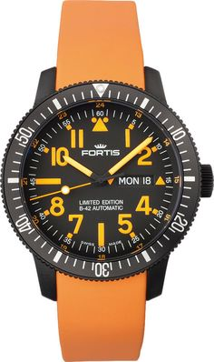 Fortis Watch Cosmonautis Mars 500 Limited Edition #bezel-fixed…