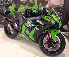 Kawasaki Ninja ZX-10R  (Foto: André Paixão/G1)