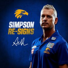 Great news, fans! Adam Simpson has recommitted to the Eagles until the end of season 2022!