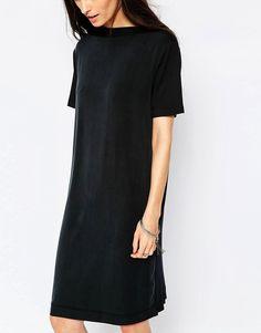 Only schwarzes paillettenkleid
