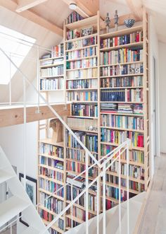 Home Library ~ multi-level
