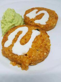 Burger di quinoa e salsa allo yogurt  (d.p.)