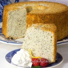 Chiffon Poppy Seed Cake   Art and the Kitchen