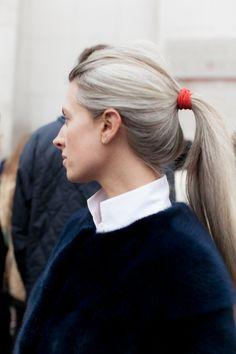 8and2:  Sarah Harris, Paris Fashion Week AW14, Paris                                                                                                                                                     More