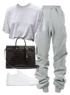 """Untitled #1930"" by deamntr ❤ liked on Polyvore featuring Y/Project, Prada and Yves Saint Laurent #casualwinteroutfit"