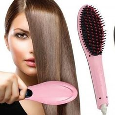 Today on BabySteals.com: Something for YOU #mama! We've got #makeup and hair accessories at a Steal and I'm not exaggerating - this particular amazing device changed my mornings. The 2-in-1 Hair Straightening Brush is ONLY $16.99! Straighten and #style all in one. #stylesteals