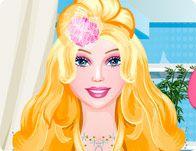 Barbie Cute Hairstyle Girlsocool In 2020 Barbie Games Free Barbie Barbie Hairstyle