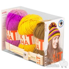 """Kit Hat"" coloris 652-924-024 https://www.rosemouton.com/lanas-stop-kit-hat-1394.html"