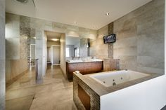 Client Projects - contemporary - Bathroom - Perth - Webb & Brown-Neaves