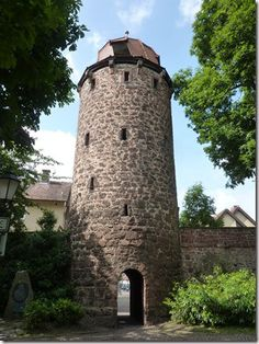 Klausturm en Bad Hersfeld
