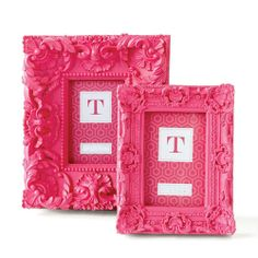 Pink Baroque Photo Frames Sharing & Inspiring Hollywood Interior Design Fans With Tips & Ideas, Courtesy of InStyle-Decor.com Beverly Hills, Enjoy