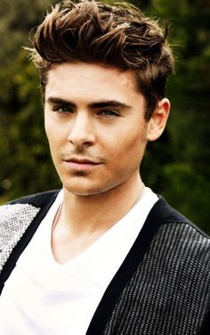 Zac Efron, I love the way he looks at me