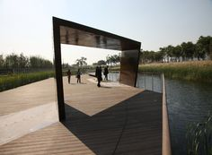 Gallery of Shanghai Houtan Park / Turenscape - 17
