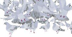 Animalarium: A Flock of Pigeons