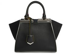 Fendi Mini 3Jours Bag in Black