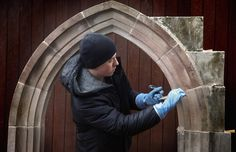 Traditional stone masonry techniques