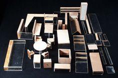 maquette maken   Instructiemodellen van meubels, gemaakt door Cora Nicolaï-Chaillet ...