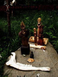 Icelandic heathen altar by Margrét Helga