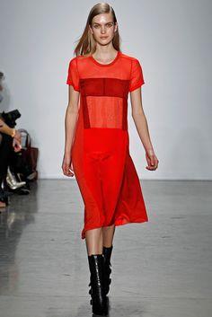 Reed Krakoff Fall 2012 Ready-to-Wear Fashion Show - Mirte Maas
