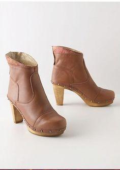 "Sanita ""Malmo"" Clog Ankle Boots - Size 38 - 7.5"
