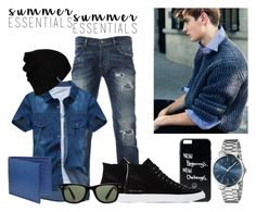 """""""Summer Essentials"""" by marialoveswednesdays ❤ liked on Polyvore featuring Common Projects, Gucci, Paul Smith, Ray-Ban, Hurley, men's fashion, menswear and summermenswearessentials"""