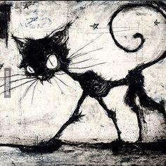Tim Burton's Cat