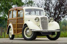 Austin Ten 10-4 Cambridge Woody by Jennings 1936