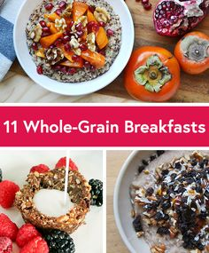 Healthy Breakfast Ideas : – Image : – Description 11 Healthy Whole-Grain Breakfast Recipes -Read More – Sharing is power – Don't forget to share ! Delicious Breakfast Recipes, Healthy Breakfast Recipes, Brunch Recipes, Healthy Eating, Healthy Recipes, Healthy Breakfasts, Healthy Meals, Healthy Brunch, Vegetarian Meals