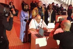 Frank Ettawageshik (Odawa) Delivers Closing Plenary of NFCCC COP21 in Paris on Behalf of Indigenous Peoples