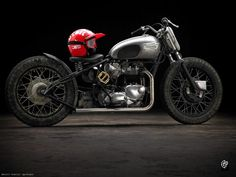 by Benoit Guerry. Lay down your favorite bobber/Hardtail... @ cr351.com