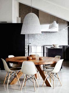 medidas para sala de jantar - sala de jantar - medidas para cadeira - espaço para mesa e cadeira - mesa redonda - banco confortável