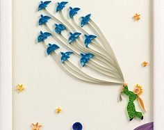 Quilled Paper Art: The Little Prince Quilling
