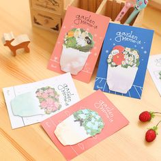 48 pcs/Lot Rose flower sticky notes Post it memo pad Memo sticker stationery office accessories School supplies 6947 #Affiliate