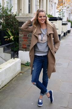 Casual Vans sneakers outfit-->I have vans shoes and I love them so much!!!