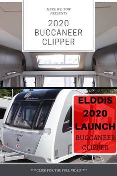 We were fortunate enough to be invited to the press launch for the 2020 Elddis range. Here we got to look around all the new vans that will be on the market for the upcoming year. Check out this first look at the all new Buccaneer. Caravan Reviews, Caravan Makeover, Business Emails, Over The Years, Product Launch, Range, Adventure, Check