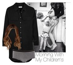"""»Morning With My Children's."" by storyofmylife1danita-scream on Polyvore featuring Equipment and Charlotte Russe"
