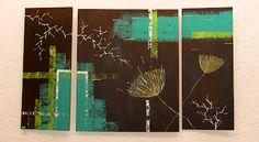 YAY' peintures abstraites Deco, Abstract Paintings, Canvases, Art Paintings, Art Deco, Decoration, Deko, Decor, Dekoration