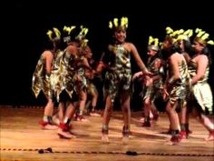 African Jungle Dance - Part of Shaina's dance performance at Lotus Temple