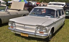 1953 Studebaker Wagon | Chevrolet Corvair Lakewood 1964