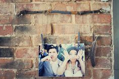 Clothespin Hanging Frame (supply your friend with multiple pictures to rotate)