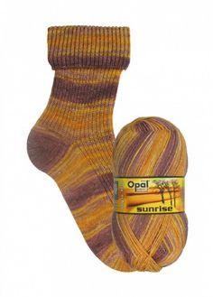 Opal Sunrise 9445 Mut der Morgensonne  #garnkurven #strikking #sokkegarn #opalsokkegarn #sokkestrikking #garn