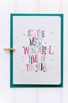 betype:  Christmas Cards & Gift Tags by Love Carli.