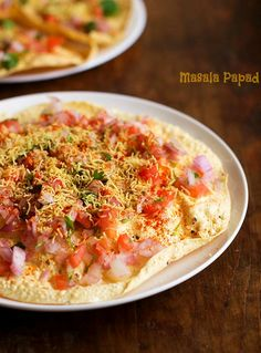 Masala Papad Recipe – a quick, lip smacking finger snack which goes well as a…