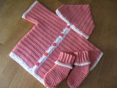 New Baby Hoodie Pattern from Bernat