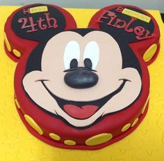 Image result for mickey mouse face cake