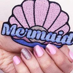 Patch - achados de uma sereia  #lojaamei #patch #rosa #mar #concha #mermaid