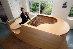 Pianos de diseños inusuales