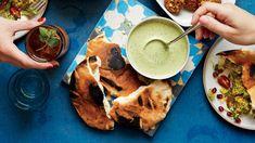 Spiced Green Tahini Sauce Recipe   Bon Appetit